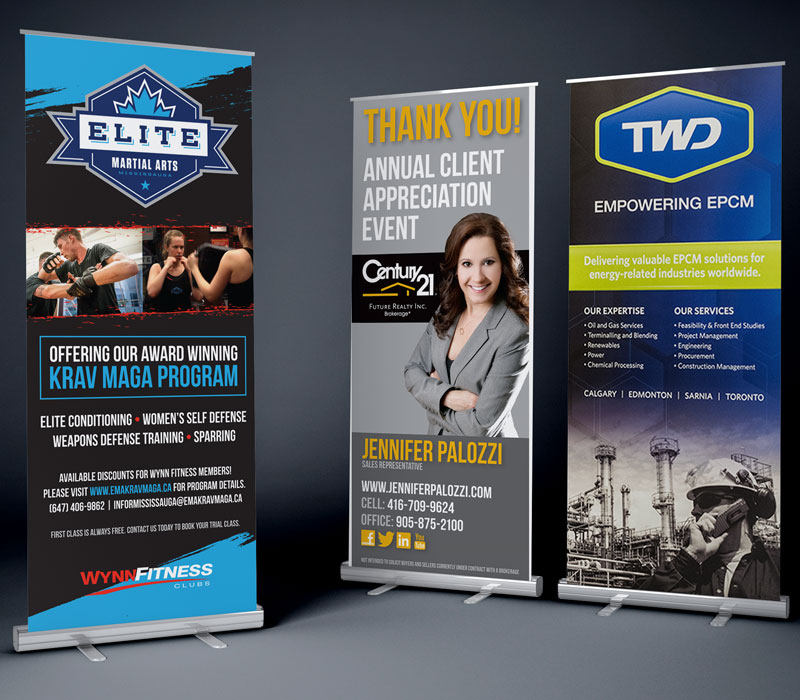 Large Format Banners Kd Sign Systems Inc